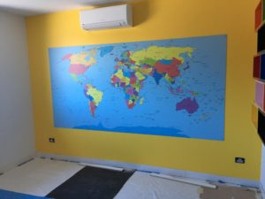 map wall feature