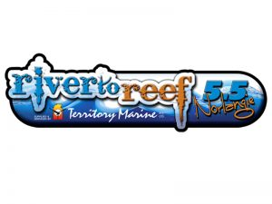 RIVER_TO_REEF LOGO design