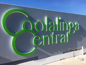Coolalinga Central 3d illuminated